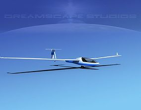 3D model Glaser-Dirks DG-300 Glider V09