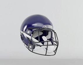 3D American Football Helmet official