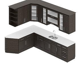 3D Kitchen Furniture Set 7