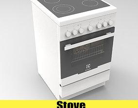 stove Electrolux EKC 951101 3D asset