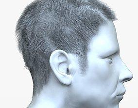 3D model Male Hair