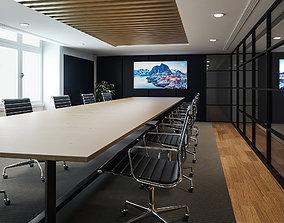 3D asset realtime Super Hub office Vol 011