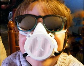 CHILD RESPIRATOR MASK 3D printable model