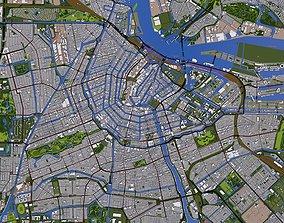 3D asset Amsterdam City of Europe
