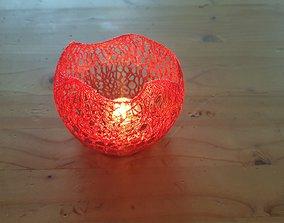 3D printable model Candle Holder Teelichthalter