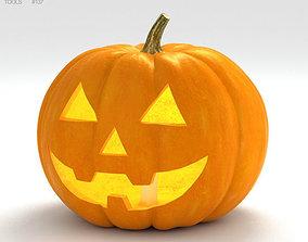 Jack-o-Lantern Halloween 3D