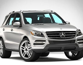 3D MERCEDES BENZ ML350 AMG