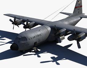 Military C-130 3D model