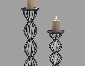 home Modern Candlesticks 3D