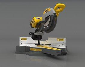 3D asset DEWALT Flexvolt Sliding Miter Saw