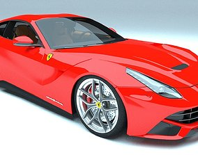 3D model Ferrari F12 Berlinetta cycles