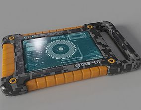 Sci Fi Tablet Tab-01 3D model