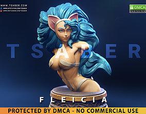 Felicia Bust - DarkStalkers Collectibles 3D print model