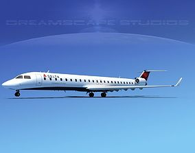 Bombardier CRJ900 Delta Connection 3D model