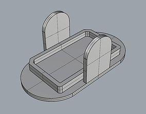 Mi Drone 4K battery cap 3D printable model