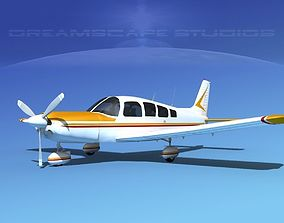 3D Piper Cherokee Six 300 V04