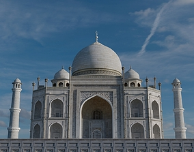 Taj Mahal 3D model mahal travel