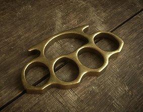 3D asset Brass Knuckles - Different colors