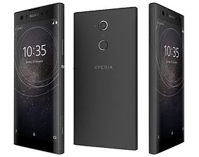 3D model Sony Xperia XA2 Ultra Black