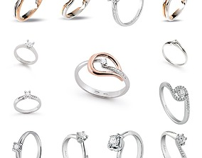 32 model solitaire ring