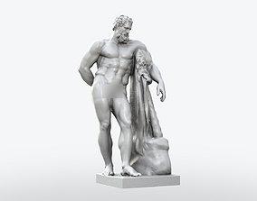 Farnese Hercules Statue 3D printable model