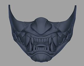 3D print model Kitana mask from Mortal Kombat 11