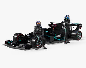 Mercedes AMG F1 W11 EQ Power 2020 3D model