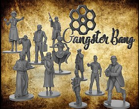 Gangster Bang collection 3D printable model