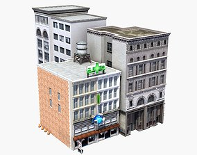 3D model Downtown Stores