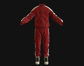 3D model Sports suit