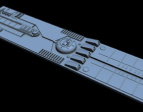 Starship Detail 15 technology 3D