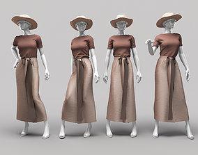 Woman Mannequin 11 3D model