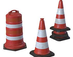 3D asset Repair Cone