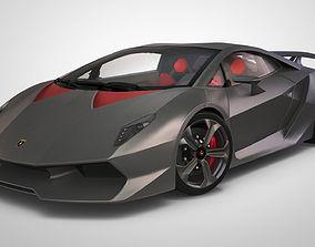 3D model Lamborghini Sesto