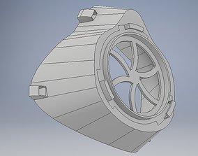 Respirator 3D print model