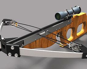 3D printable model crossbow