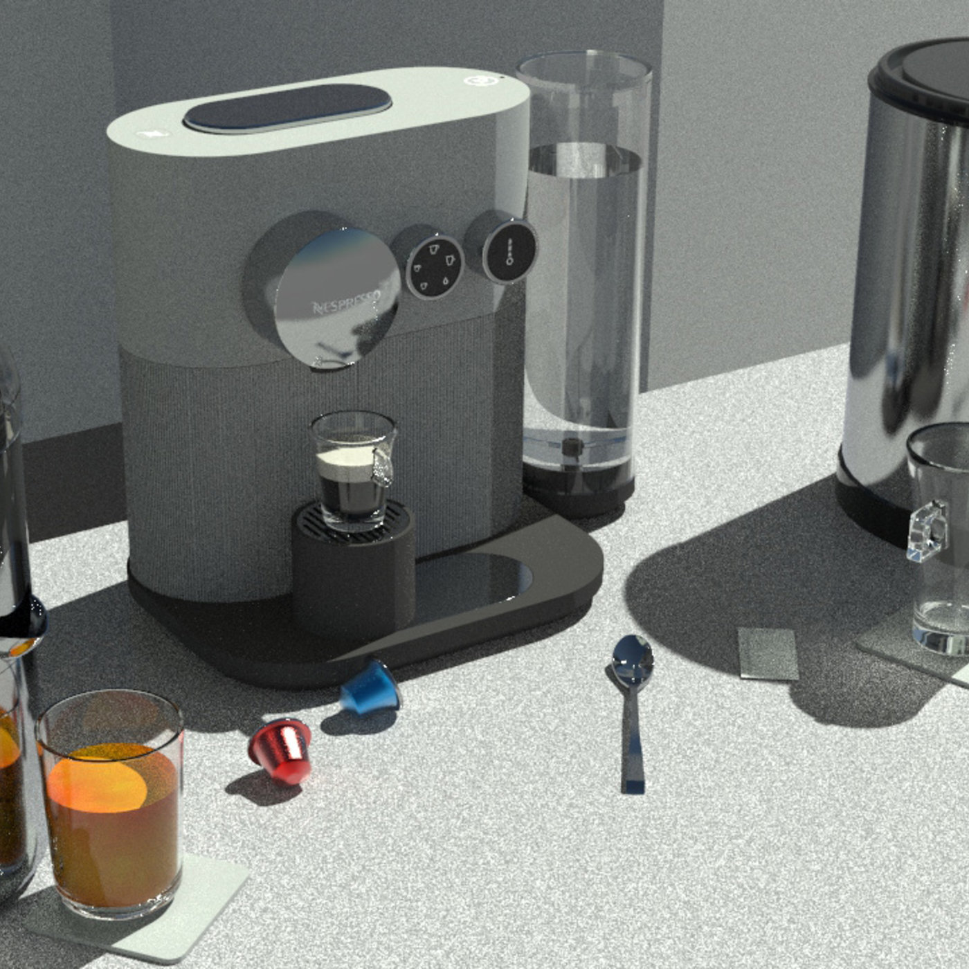 Breakfast. Coffee & Juice