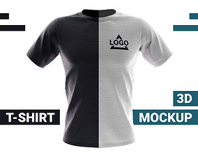 T-Shirt 3D Mockup