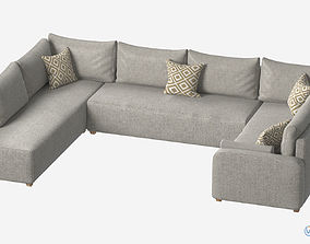 Sectional Sofa 3D asset