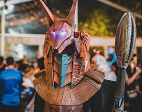 3D print model Stargate Anubis Cosplay Helmet