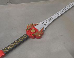 3D print model Power rangers Legacy Red Ranger Sword