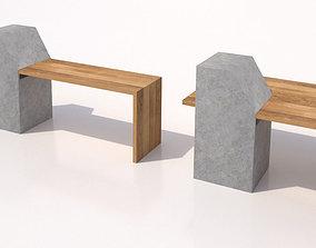 Bench-02 3D model