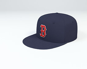 3D Boston Red Sox Baseball Caps