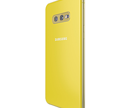 Samsung Galaxy S10e 3D model