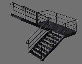 3D asset Stair 1A
