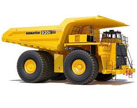 3D model Komatsu 930E