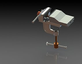 3D print model clamp vise