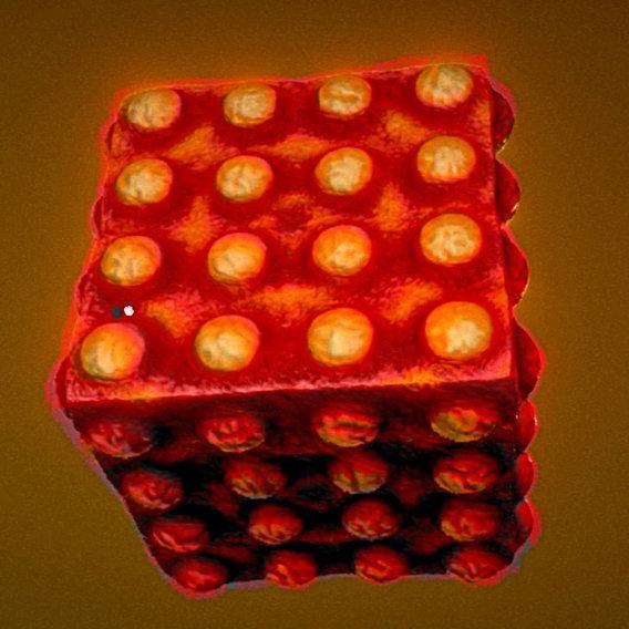 Mutating Cube (Mutation-1) (Blender-2.79b)