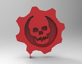 3D printable model gears of war symbol