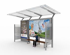 3D model BUS STATION 5